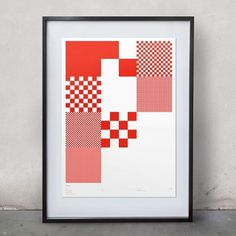 • Pixel Hand-Numbered Prints - Effektive® Design for Print, Screen & Environment #pixel