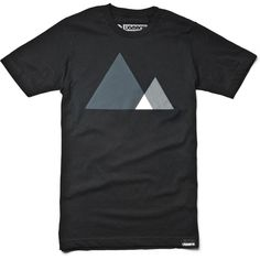 MOUNTAINS (BLACK SERIES) #clothing #monotone #ugmonk #tshirt #black #product #on #photography #tee #mountains