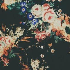 Vintage Pattern #pattern #vintage #floral