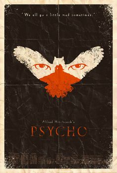 Psycho Poster by ~adamrabalais on deviantART #movie #horror #poster