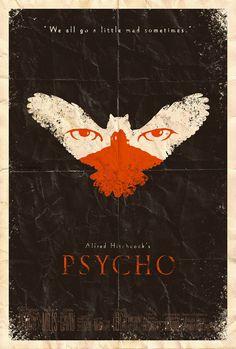 Psycho Poster by ~adamrabalais on deviantART
