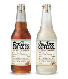 One Tree Coffee #packaging #type #vintage