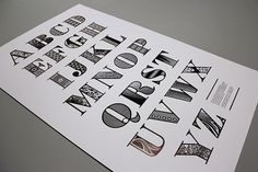 Creative Review - Bodoni Decorated #typography