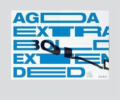 Design Envy · Agda Extra Bold Extended: Toko #typography #invitation #bold #extra bold