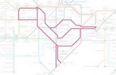 Subway Animals » Design You Trust – Design and Beyond! #subway #drawings #map #bird