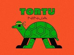 teenage (not mutant yet) ninja turtle