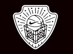Nike streetball logo #nike #crate #basketball #street