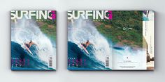 Surfing Magazine, 2013 — Editorial - Joy Stain #rip #water #surf #wet #surfing #type #noa #wave #cover #stain #joy #layout #editorial #magazine #emberson