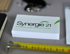 Synergie 21 - graphicwand #business #graphicwand #card #design #graphic #corporate #identity #synergie #logo