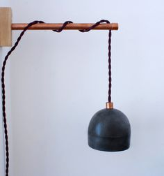 concrete-lamp.jpg #light #lamp #concrete #copper #industrial #design #pendant #interior