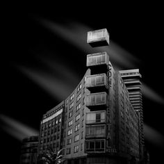 GRVTY: Incredible Black and White Architecture Photography by Daniel Garay Arango