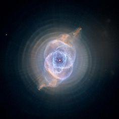 HubbleSite - Picture Album: The Cat's Eye Nebula: Dying Star Creates Fantasy-like Sculpture of Gas and Dust #universe #nebula #nasa #cat #eye