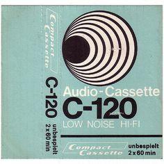 Compact Cassette Flickrgraphics #graphic design #cassette cover