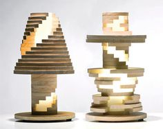 Babele Lamp is Like A Giant Puzzle - Design Milk #lamp