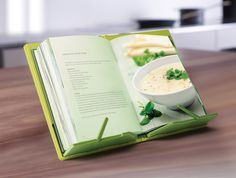 Joseph Joseph Cookbook Compact Folding Bookstand #tech #gadget #ideas #gift #cool