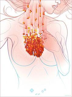 My TETRIS HEART Longs for Your PUSH — TRAGIC SUNSHINE #heart #kevin #tong #tetris