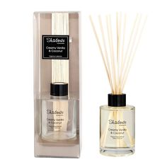 fragrant reed diffuser creamy vanilla coconut 125 ml