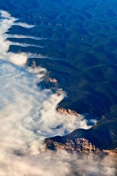 100 Incredible Views Out Of Airplane Windows #blue #australia #photography #mountains