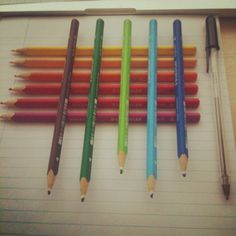 Tools #colours #stools #pencils