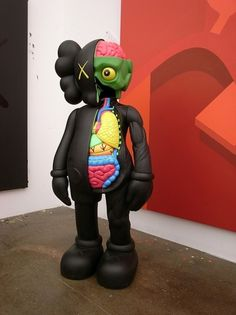 KAWSONE #vinyl #illustration #original #art #kaws #fake #toy