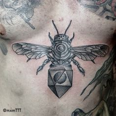 Bee Tattoo by mxme