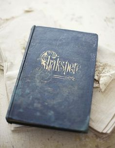 shakespear pictoral edition by sadieolive on Etsy #lettering #book #cover #vintage #type #typography