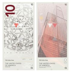 travis purrington banknotes introduce radical redesign for the US #us #money