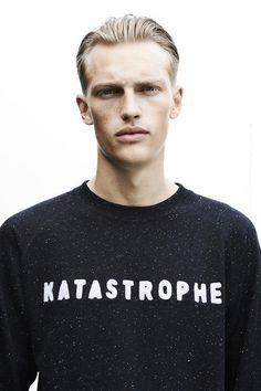 Victor Nylander, Sacha Oda #katastrophe #men #sweater #fashion #nylander #soda