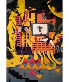 Ouf! l'atelier #design #graphic #ouf #latelier #paper