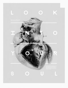 Tumblr #graphic design #poster #editorial #look #your #soul #into