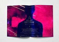 ▲Velvet Spacetime on the Behance Network