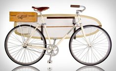 Almond x Linus Summer Bike | Uncrate #summer #bike #surf #fixed