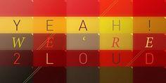 2LoudMusic by Niketo #din #grid #mosaic #slogan