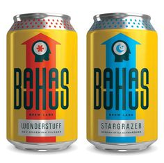 Bauhaus Brew Lab Cans #beer #can #packaging #label
