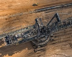 AERIAL VIEWS COAL MINING (13) #tech #machine #aerial #bernhard #mining #photography #lang #technology