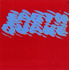 AIGA | Louis Danziger #typography #album cover art #louis danziger