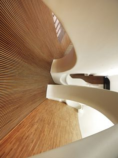 CJWHO ™ (Bahrain National Theatre by AS.Architecture...) #theatre #design #interiors #wood #architecture