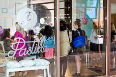 Pastille brand identity #calligraphy #glass #frosting #paint #identity #drawn #art #logo #nail #pastel