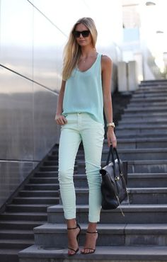 HIGH ROAD.LOW ROAD #fashion #mint #green