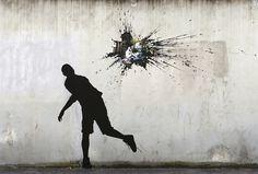Vandal-ism, Rue Edouard Manet Paris 13 #streetart
