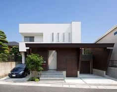 Intriguing Contemporary Residence Elegantly Maximizing Space in Fukuoka, Japan #architecture #contemporary