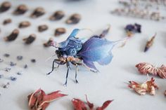 Delicate Insects Made From Resin by Hiroshi Shinno > FREEYORK