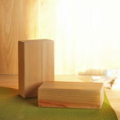 This Hinoki Yoga Block is a sustainable alternative to ordinary foam blocks. It provides generous support and is firm, solid, and easy-to-grip. Made with high-quality Hinoki (Japanese Cypress) wood, which is naturally antibacterial and resistant to mold and rotting. Perfect for yogis and fitness enthusiasts.