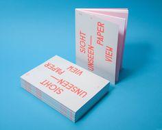 Studiolin sightunseen1 1200 xxx #booklet #book