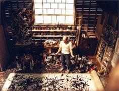 joe-fig-jackson-pollock-studio-1023.png (PNG Image, 1023x787 pixels) #pollack #studio #jackson