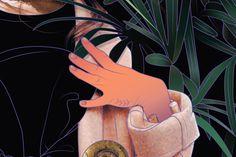 Olive tattoo. Detail by Maria Umiewska