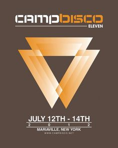 Camp Bisco Poster Contest | Flickr - Photo Sharing! #abstract #norway #fesival #electronica #2012 #bisco #camp #music #usa #typography