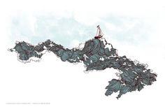 Frida Clements || Design & Illustration #illustration #waves