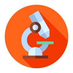 See more icon inspiration related to healthcare and medical, scientific, microscope, observation, education, science and medical on Flaticon.