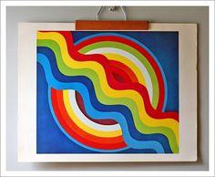 Modern Art Posters, 1960s  Modish Vintage / Aqua-Velvet